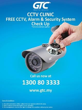 CCTV Clinic flyers